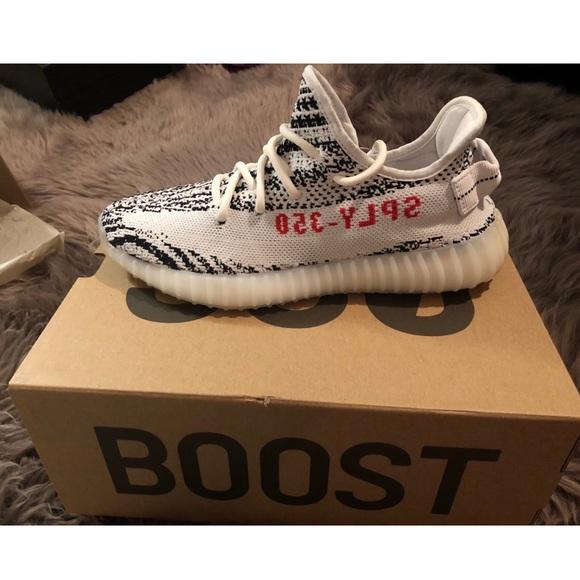 bd01603c8 Adidas YEEZY BOOST 350 v2 Zebra - NWT